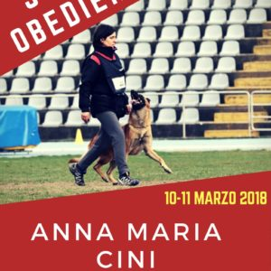 Stage di Obedience csen