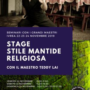 Stage Stile Mantide Teddy Lai